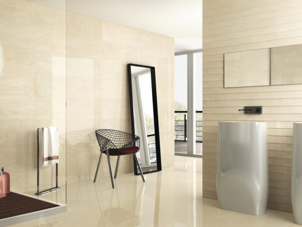 VELVET CREAM 30X90 RECTIFICADO BALDOCER