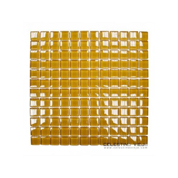 MOSAICO BRILLO M02 NARANJA (2.3X2.3) 30X30 GAMA LI