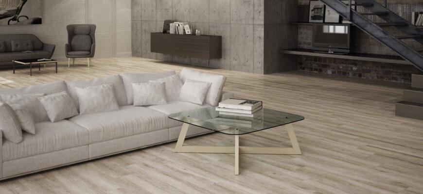 suelo de cerámica o madera